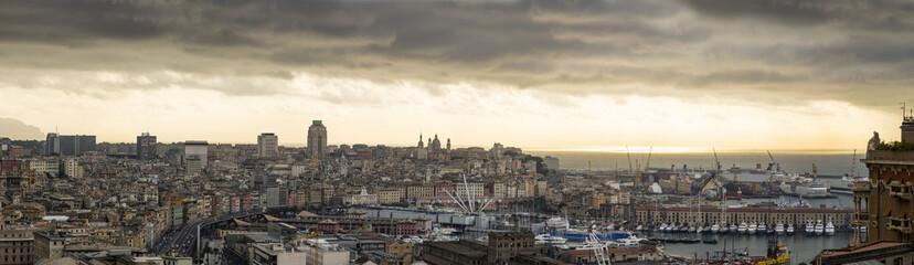 Panoramica di Genova