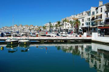 Puerto Banús, muelle, Marbella, Málaga, yates, costa