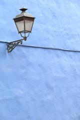 Alte Strassenlampe auf Teneriffa