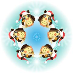 eulen - christmas