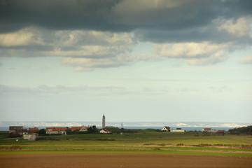 paysage de la côte