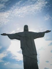 Christ Redeemer From Below