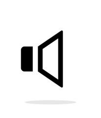 Speaker Volume icon on white background.