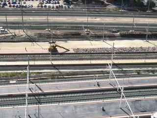 railway track works