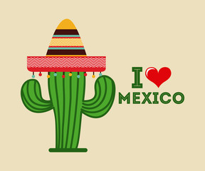 mexican icon design
