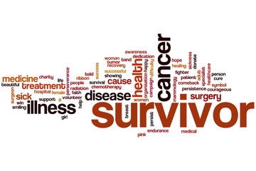 Survivor word cloud