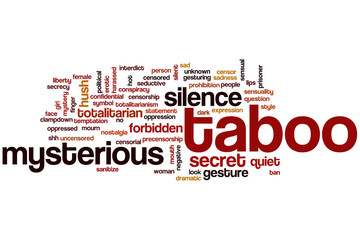 Taboo word cloud