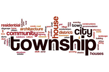 Township word cloud