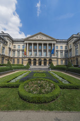 Federal Parliament of Belgium in Brussels.