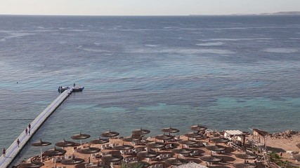Reef Oasis Resort Beach. Egypt