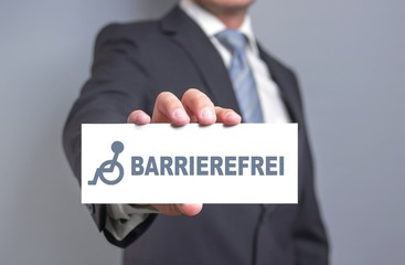 Barrierefrei - Konzept
