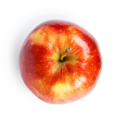 Red apple closeup