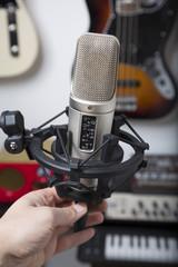 mikrofon in tonstudio 02
