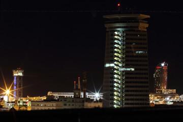 panorama night barcelona