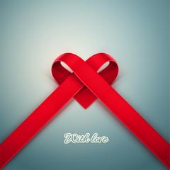 Heart from Ribbon