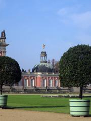 barockes Neues Palais im Schlosspark Sanssouci