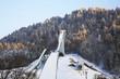 Springboard on Olympic stadium in Garmisch-Partenkirchen