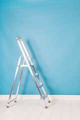 Step ladder in interior