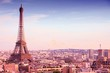 Paris. Filtered color tone.