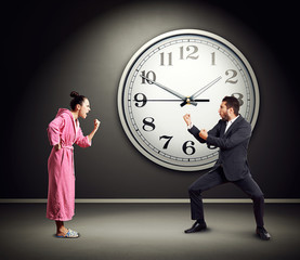 quarrel between emotional couple