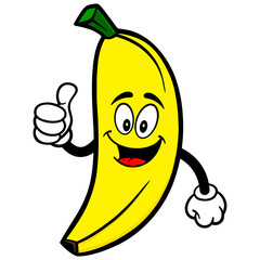 Banana with Thumbs Up