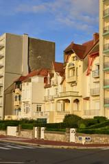France, picturesque city of Le Touquet in Nord Pas de Calais