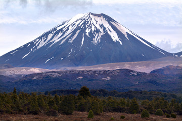 Tongariro National Park - Mount Ngauruhoe