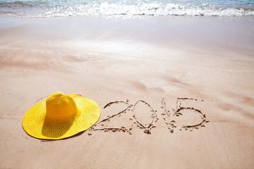 Новый 2015 год. Пляж