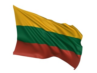 Lithuania flag - Lithuanian flag
