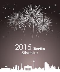 Silvester Berlin Feuerwerk