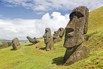 Rapa Nui National Park on Easter Island