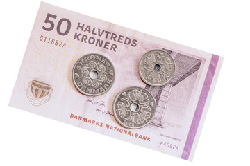 Danish money.