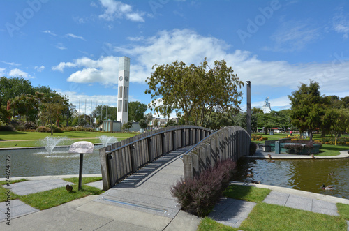 Foto op Canvas Nieuw Zeeland Palmerston North - New Zealand - The Square