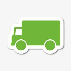 Logo transport. Camion.