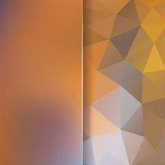 abstract background consisting of triangles and matt glass