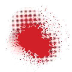 blood splatter