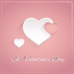 Valentines card.