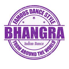 Bhangra stamp