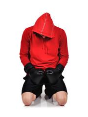 boxer kneelsf