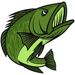 Bass Mascot