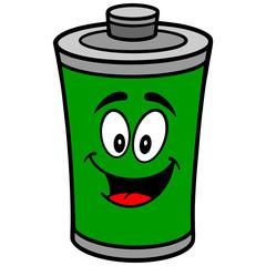 Battery Mascot