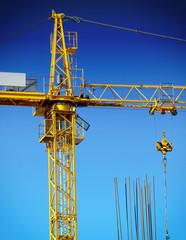 crane in construction