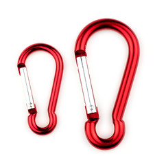 Small and large carabiner outdoor extreme sports hooks