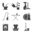 housework icons