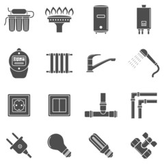 home supply icons