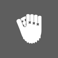 baseball glove icon
