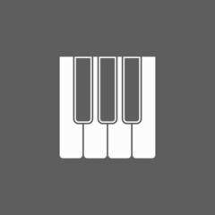 keyboard music icon