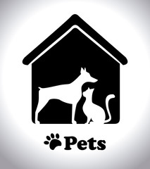 Pets design,vector illustration.