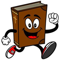 Bible School Mascot Running