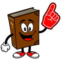 Bible School Mascot with Foam Finger